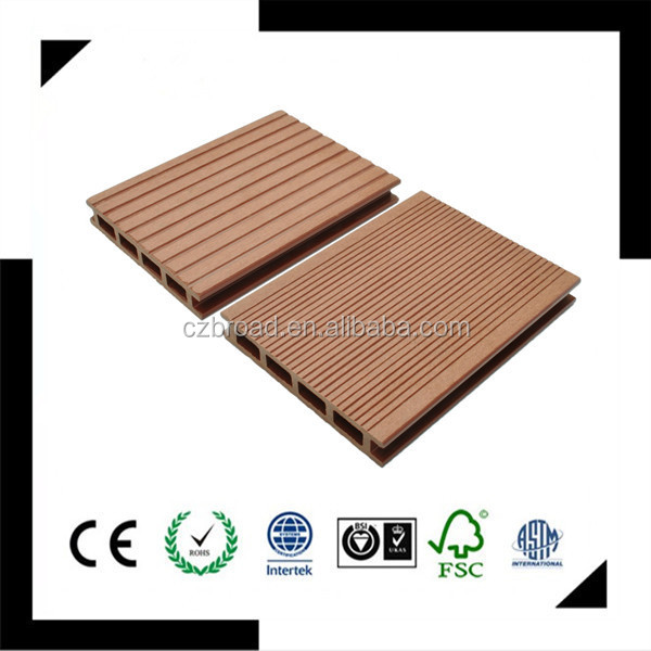 140*25mm cheap composite decking material