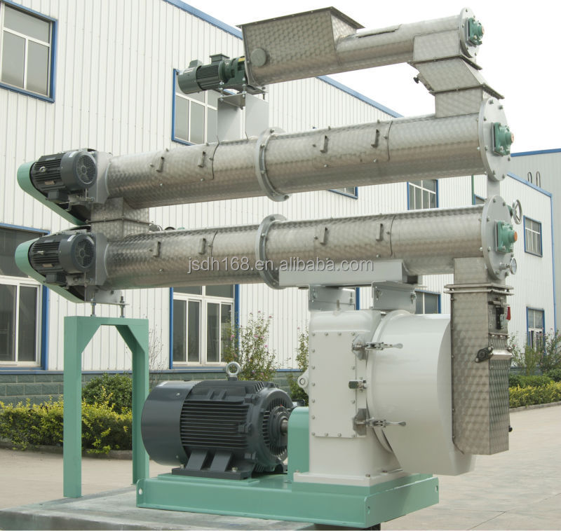 china hot sale making cattle feed machine two conditioners cattle feed pelleter