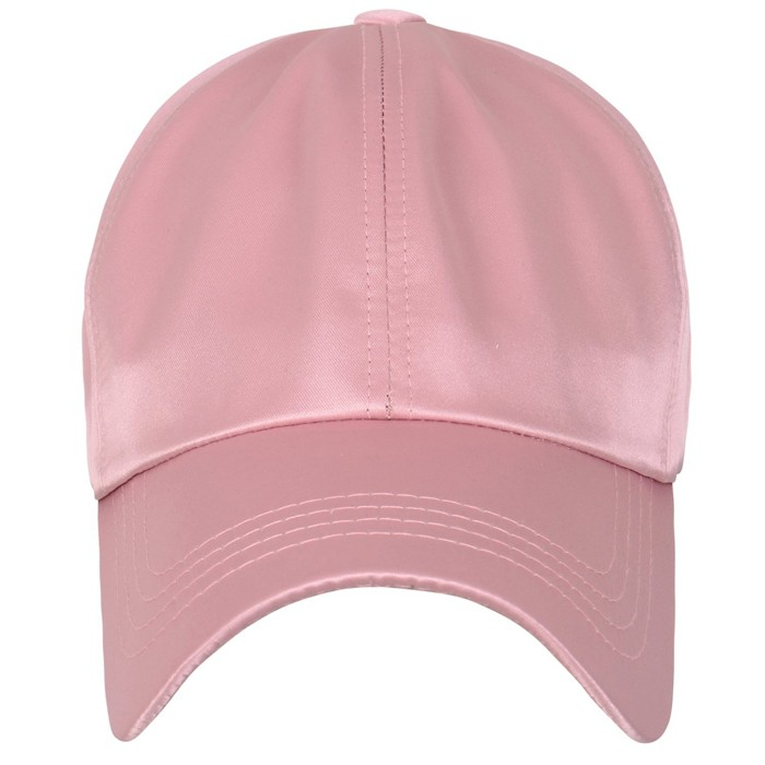 custom wholesale blank satin baseball caps