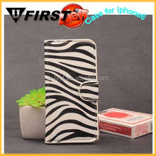 for Iphone 6 foldable Flip fashionable mobile phone purse case,leather case mobile phone