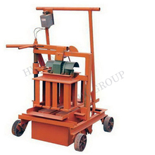 Small Movable Manual Concrete/Earth Block Making Machine with Cheapest Price