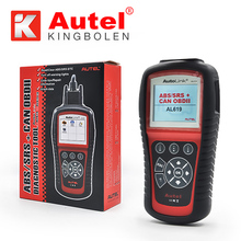 100% Original Autel Autolink AL619 ABS/SRS + CAN OBDII Code Reader Turn off Check Engine Light clears codes resets monitors