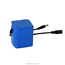 Small 12V 6ah Rechargeable Li-ion 18650 Battery Pack