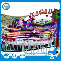 Adults 30seats amusement park ride cheap thrill equipment Disco Tagada for sale(in stock)