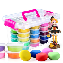 Eco-friendly modeling super light clay ultra-light clay polymer clay set toys//