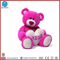 valentine plush toy plush bear valentine stuffed toy bear