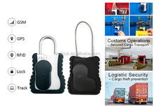 Cargo Container Tracking and Monitoring Solution active GPS RFID E-seal locking unlocking by GSM/SMS