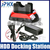 "JP-D875 USB2.0 HDD Docking Station With OTB For 2.5"" & 3.5"" (USB/e-SATA/SATA)"