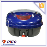 Universal waterproof blue motorcycle luggage from China factory