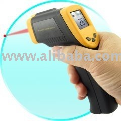 Infrared Digital Thermometer Gun with Laser Sight (Non Contact)