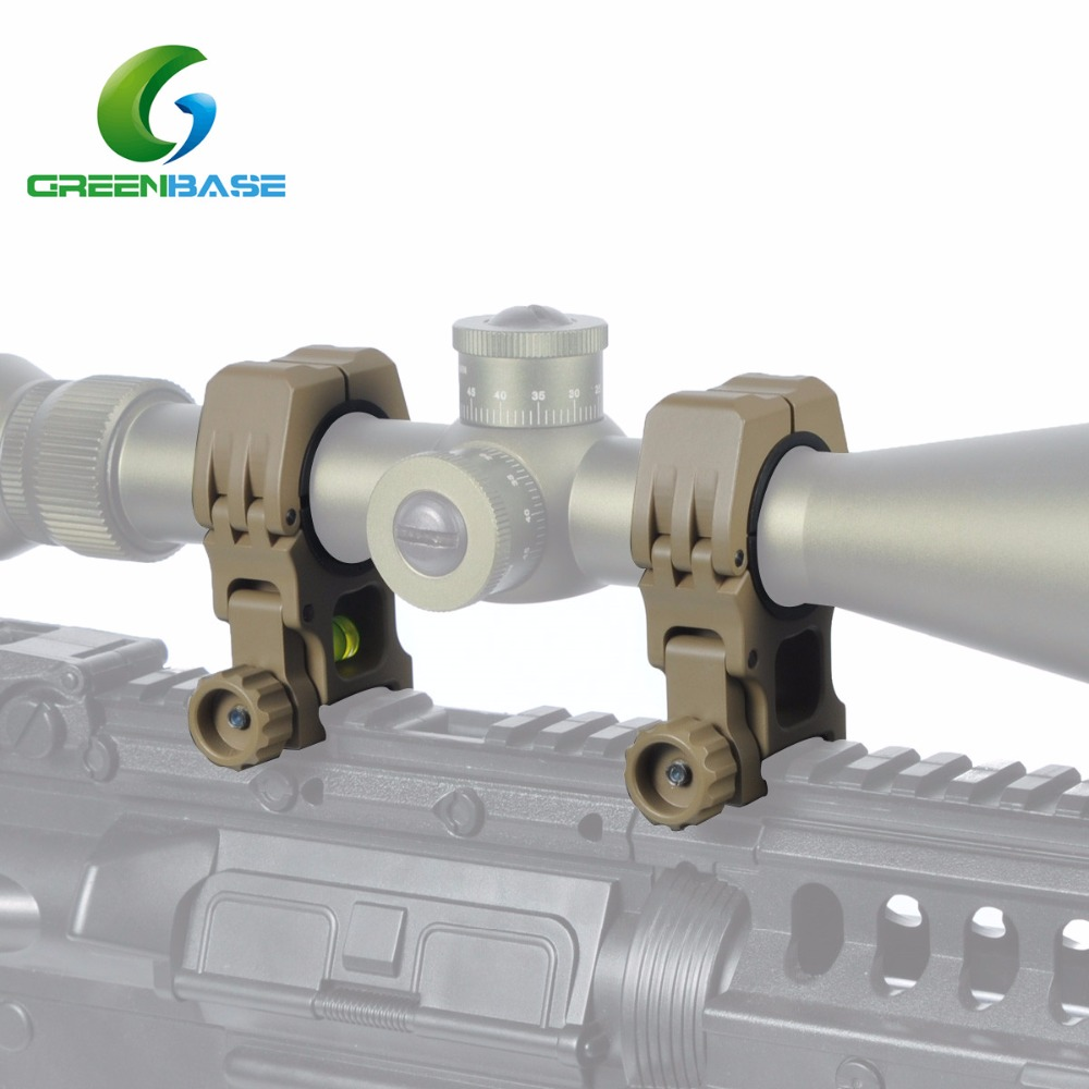 Greenbase 1inch 30mm rifle scope accessories air gun mount rings with bubble level for Rifle <strong>M10</strong>