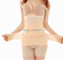 3 in 1 Postpartum Support Recovery Belly Wrap Waist Pelvis Belt Body Shaper Postnatal Shapewear