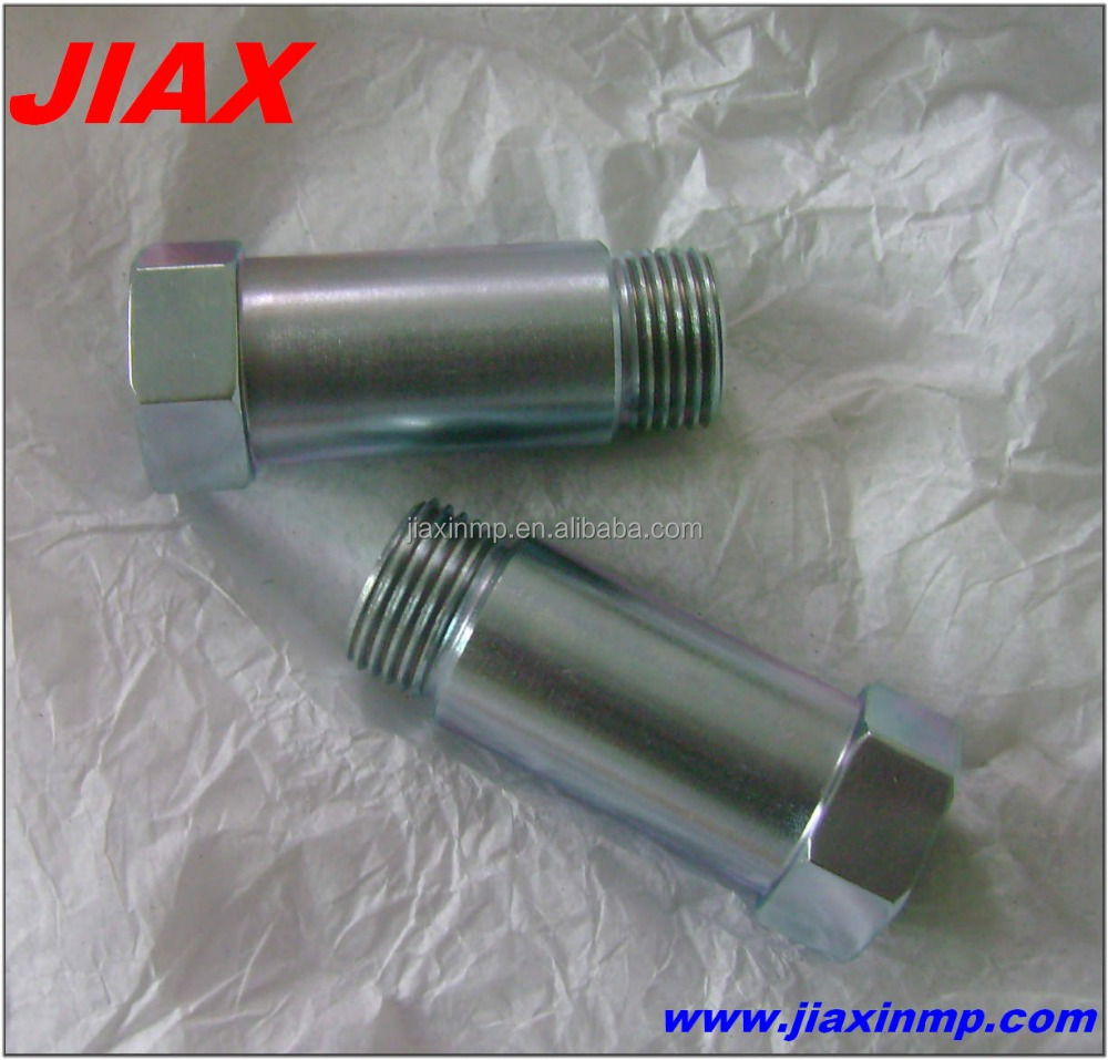 OEM machining wholesale guangzhou auto parts for exhaust pipe,oxygen sensor nut