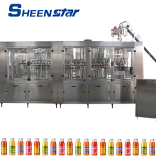 SUS316 filling valve automatic 250ml-2000ml uice filling packing machine