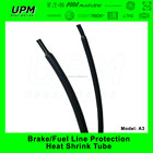 automotive fuel line protection wire heat shrink tubing