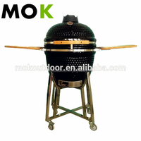 BBQ Smoker ceramic kamado grill table top garden cooker