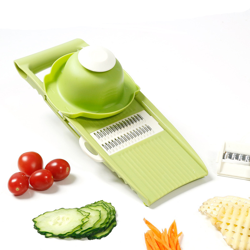5 in 1 Vegetable&Fruit Hand Slicer Manual Salad Chooper Kitchen Tools