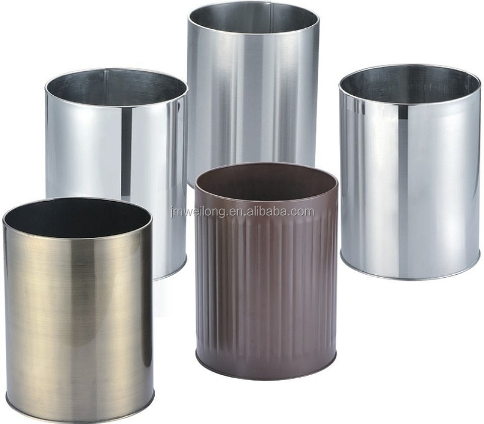 stainless steel trash bin for office buy stainless steel trash bingarbage trash binoutdoor dustbin product on alibabacom
