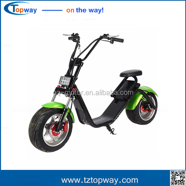 Latest design carbon steel frame 60v 1000w bldc motor electric scooter