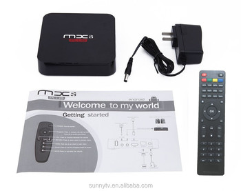 tv box manufacturer supply 2016 s905 2gb+16gb android 5.1 mxs plus tv box