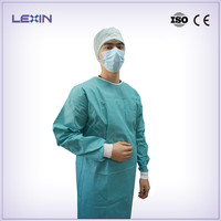 China manufacture Disposable hospital gown
