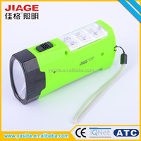 Chinese pocket solar mini flat led flashlight with side light