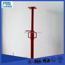 Design Construction Metal Light Duty Different Size Steel Prop / Scaffold Post Shore
