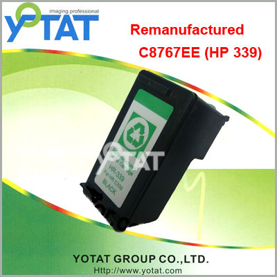 Remanufactured ink cartridge for hp339