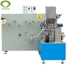 Bending drinking straw wrapping machine of canning production line