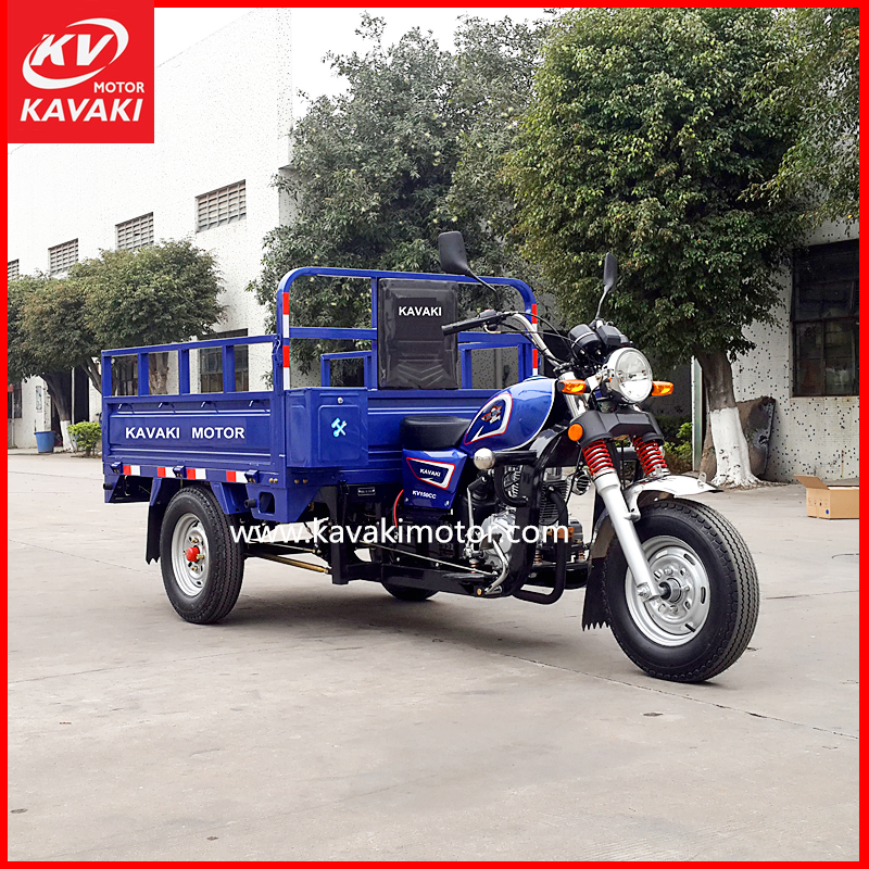 Manufacturer Guangzhou Export Garbage Motor Tricycle Truck With Hydraulic System