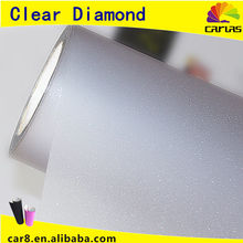 clear transparent paint film diamond matte vinyl white car wrap sticker