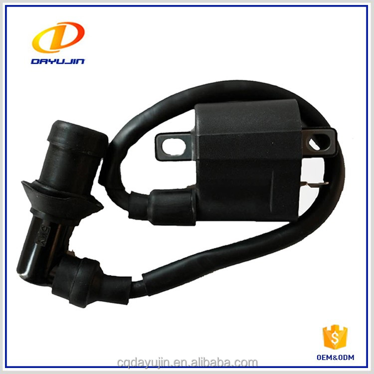 Motorcycle Parts Chinese GY6 cdi Ignition Coil With Spark Plug