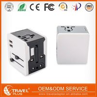 Top Grade High-End Simple Design Multi Plug Adapter With Usb