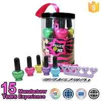 Private Label Cosmetics Wholesale Kids Nail Polish Set Toy