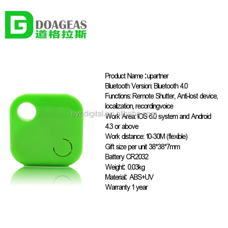 Bluetooth 4.0 anti-lost detector with Battery CR2032