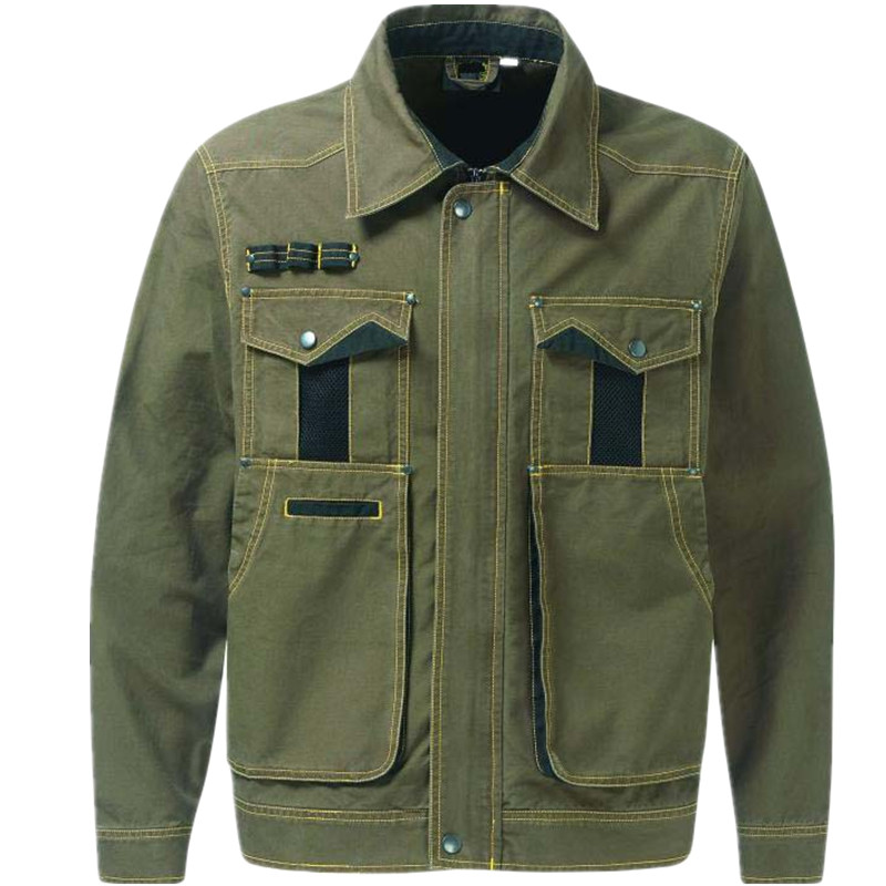 Wholesale Manufacture 100% Cotton Farm & Pasture Workwear protection safety fire retardant welding jacket