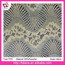 Indian hot sale knitted cord lace fabric making dress,factory direct jacquard lace wholesale