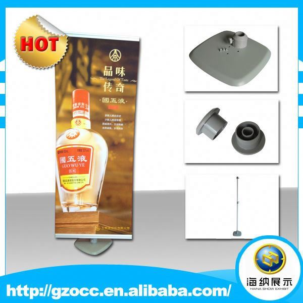 advertising aluminum quickly stand up adjustable trade show display media wall