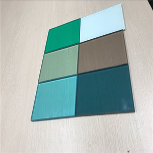 China supplier bule green bronze grey color tinted laminated glass