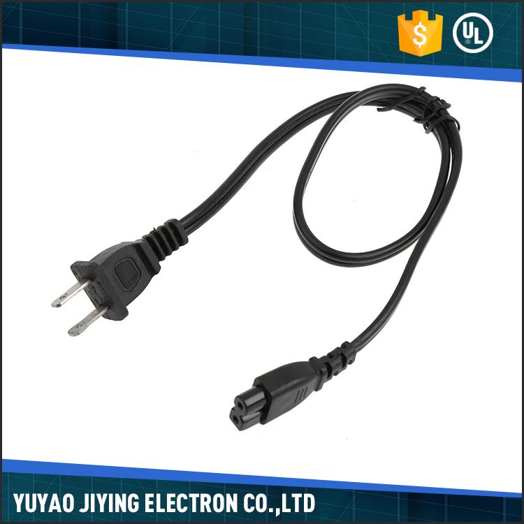 2017 New products strong black american power cord adapter
