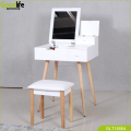 Chinese Shenzhen Goodlife Dressing Table furniture with solid wood stand and mirror design