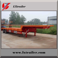 Heavy Duty Excavator Transport Flatbed Low