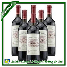 French foodstuff wines EXPORT TO CHINA PROCESS COST AND PRICE & DUTY RATE