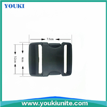 Hot selling flat strap plastic buckle for luggage & Garments