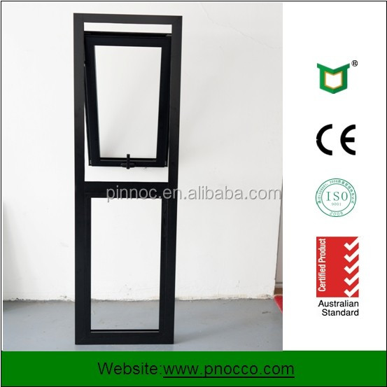 2016 New Product Exterior Glass Door And Aluminum Top Hung Window for Sale