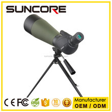 Suncore MJ 20-60X80 Hunting Scope Monocular Single Hand Focus Spotting Scopes For Birdwatching with tripod