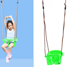 brand hanging single swing chair sets HDPE wholesale factory custom kids toys swing