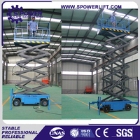 Airport hotel used hydraulic mobile manual lifting equipment