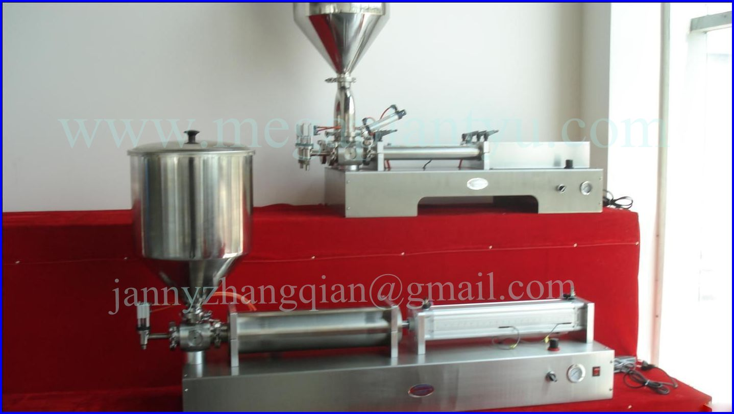 High Filling Precision Beverage Paste Filling Machine for Sale