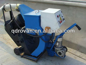 2013 high quality Subsea tunnel pavement shot blast cleaning machine